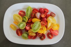 sweet, colorful bounty