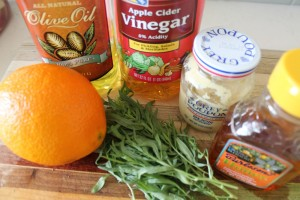 Orange Tarragon Vinaigrette