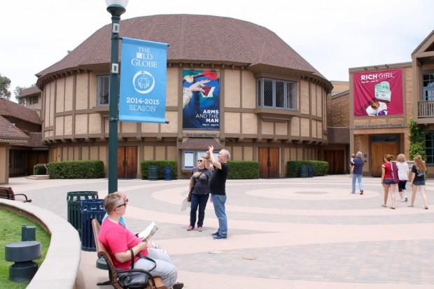 The Emmy winning Globe Theatre. Three performing venues.