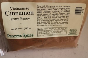 The best cinnamon. Available online.
